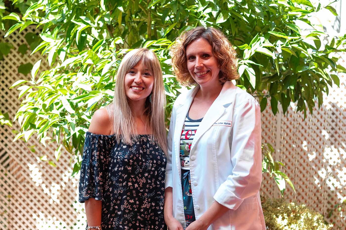 Lorena Córcoles y Dra. Esther Marbán_TEMPO_Tambre